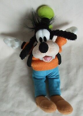 Original Disney Parks Goofy Soft Toy Disney Tag  Knitted Top 12 Inch