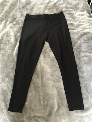 2 pairs of New Look Maternity Over Bump Leggings Size 14