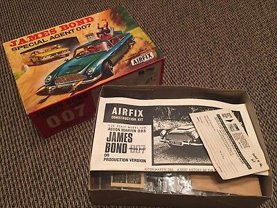 Airfix James Bond model construction kit