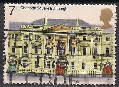 GB 1975 QE2 7p European Architectural Hertiage Year used stamp SG 975  ( A1366 )