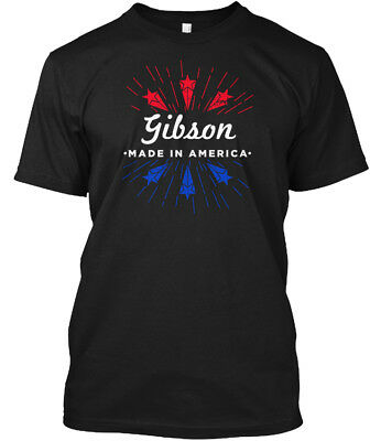 Gibson Made In America - Hanes Tagless Tee T-Shirt