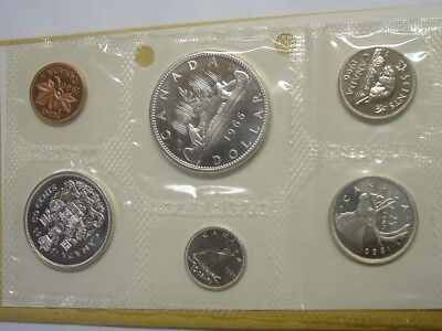 1966 Uncirculated Royal Canadian Silver Mint Set