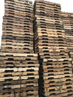 Used 40x48 wood pallets -New York, NY-Pickup Only