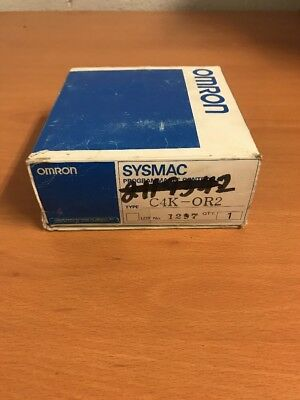 New Omron Sysmac C4K-OR2 Programmable Controller