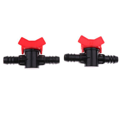 2 pcs Tank Water Flow Control Valve Hose Pipe Connector for Aquarium