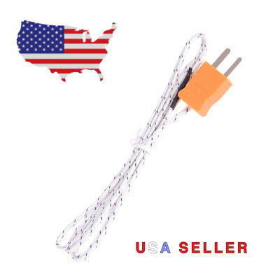 1M K Type Thermocouple Probe Sensor For Digital Thermometer Temperature Meter