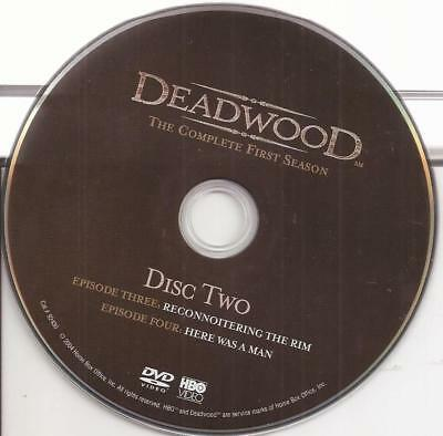 Deadwood (DVD) HBO Season 1 Disc 2 (DVD) Replacement Disc U.S. Issue Disc Only!