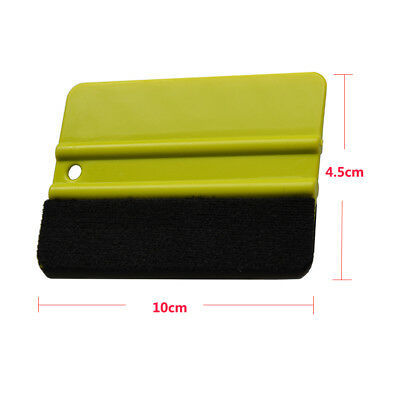 """Vinyl 4"""" Soft Edge Felt Squeegee for Car Window Film Wrapping Tinting Tools Kits"""