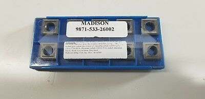 INDEXABLE INSERT Madison Carbide SCMT-432 Insert Pack of 10
