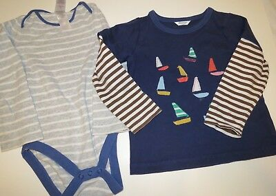 Baby Boden Tops Shirts Boys Size 2-3