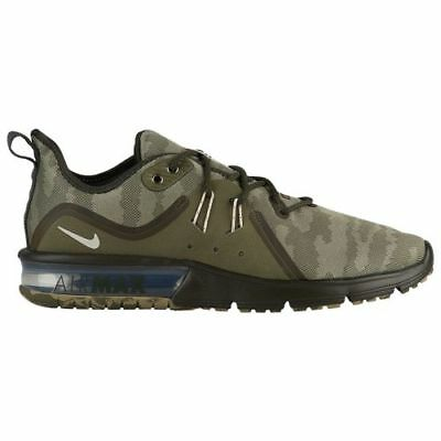 NIKE AIR MAX Sequent 3 Camo Olive Green Mens Running 2018 All NEW ... 25cf5372c