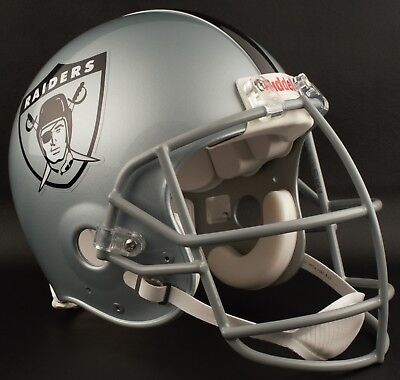 official photos 66bfa 2b523 OAKLAND RAIDERS 1963 NFL Riddell AUTHENTIC Throwback Football Helmet