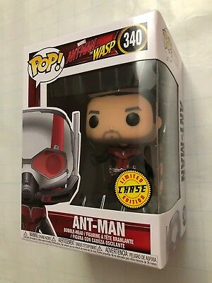 New Funko Pop Ant-Man And The Wasp - ANT-MAN UNMASKED CHASE 340 - In Hand