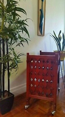 Retro Mid Century Teak Trolley / Sideboard / Side Table Excellent Condition