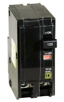 New Square D by Schneider Electric QO2125CP QO 125-Amp Two-Pole Circuit Breaker