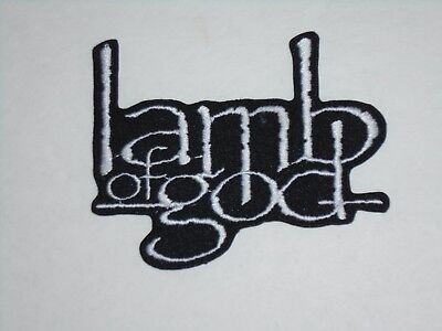 Lamb Of God Iron On Embroidered Patch