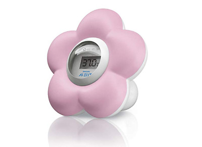 Philips Avent Digital Baby Bath and Room Thermometer SCH550/21 Pink Girls