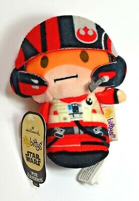 Hallmark Poe Dameron Star Wars The Force Awakens Itty Bittys Plush Bitty NWT NEW