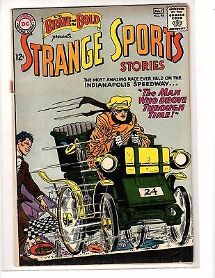 Brave & Bold #48 Dc 1963 Fine Strange Sports Stories. Infantino.race Car/champ