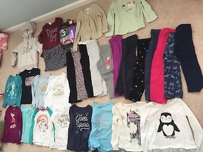 GIRLS TODDLER Clothes Lot Size 5T Fall Winter 30 Pieces