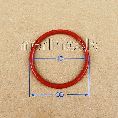 5.3mm Section Select ID from 103mm to 400mm VMQ Silicone O-Ring gaskets