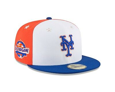 size 40 62dc3 f0ce3 New York Mets New Era 2018 MLB All-Star Game On-Field 59FIFTY Fitted