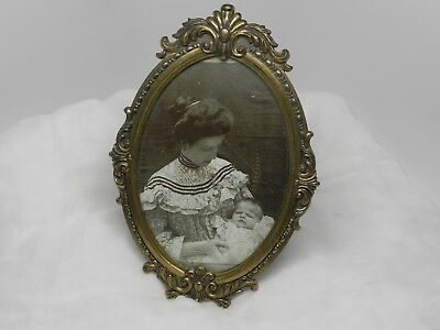 Vintage Oval Italian Picture Frame
