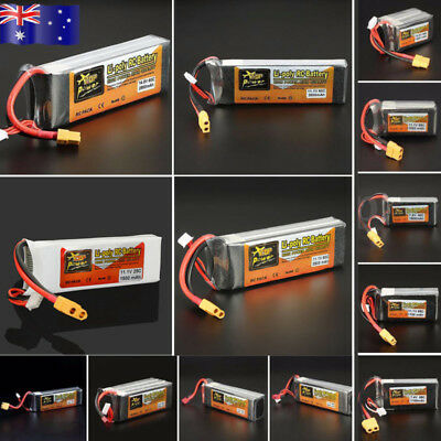 AU!!! 6000mAh 14.8V 35C 4S Lipo Battery For RC Helicopter Car Airplane Boat