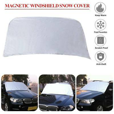 Auto Windshield Snow Cover Magnetic Waterproof Car Ice Frost Sunshade Protector