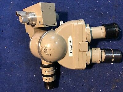 Olympus Vintage Microscope Head Plus Extras 240532 + 211499