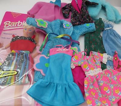 VINTAGE CONTEMPORARY BARBIE 11 PIECE LOT 9 WITH TAGS BNIP#68014 GREAT WEEKEND 9t