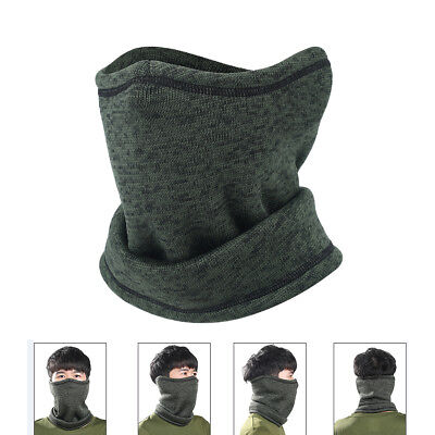 Cold Weather Winter Fleece Neck Warmer Face Mask Bandana Headband Headwear Ski