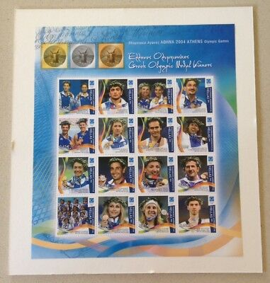 2004 Athens Olympic Games Greek Olympic Medal Winners