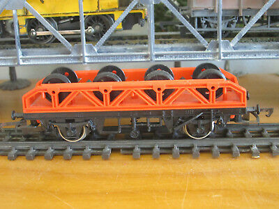 Tri-ang/Hornby Girder Flat Wagon with Wheel Load Lot A