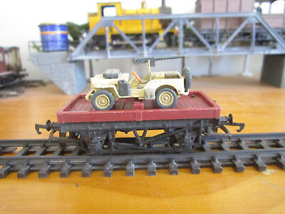 Tri-ang/Hornby R17 Bolster Wagon with Load