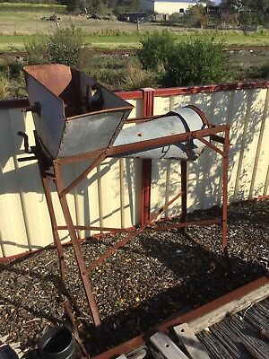 Vintage Chaff Cutter In Great Original Condition Great Garden Ornament