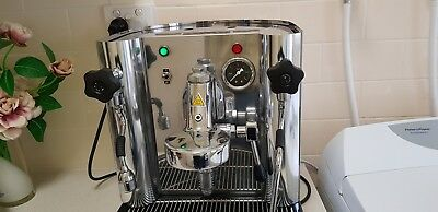 SANREMO Treviso manual coffee machine, group handle, filter basket, coffee beans