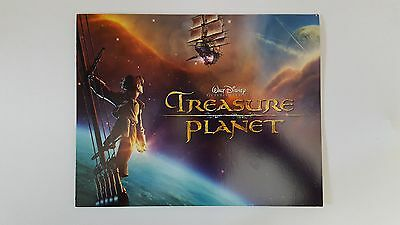 2002 Disney TREASURE PLANET Set of Lithographs