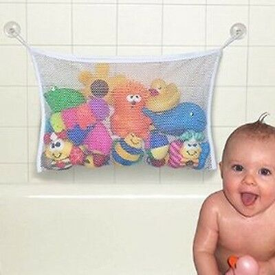 For Baby Kids Bath Shower Toys Tidy Bag Net Mesh Storage Holder Organiser bag