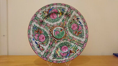 Vintage Japanese Plate Porcelain Hand Painted