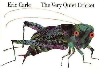 The Very Quiet Cricket Board Book by Carle, Eric