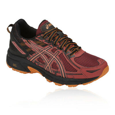 Asics Boys Gel-Venture 6 GS Junior Trail Running Shoes Trainers Sneakers Black