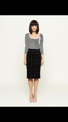Review Black Pencil Skirt Size 12