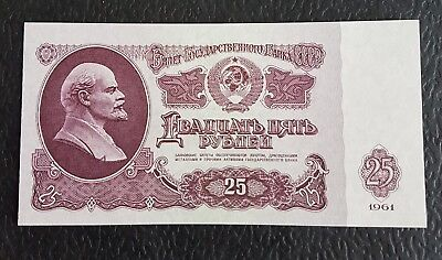 25 ROUBLES 1961UNC(neuf) Pic 234