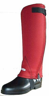 Kitt Hugs Neoprene Half Chaps for Horse Riding in lots of sizes and colours