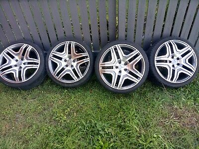 """19"""" inch wheels with tyres. Tyres: 235/35R19 To suit Mercedes"""
