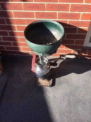 Vintage Cast Iron Cream Separator In Good Original Condition.