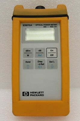 Agilent HP E5970A Handheld Optical Power Meter 800 to 1600 nm