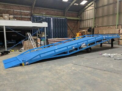 Container Ramp - 10 Ton Loading - Brand New - Ce Certs - £6900 + Vat - Save Now!
