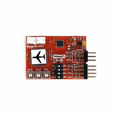 Hot M6 Flight Controller Digital Gyro for RC Fixed-wing Airplane FPV 50Hz 2 KHz